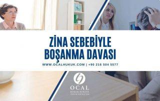 Zina (Aldatma) Sebebiyle boşanma davası şartları, dava masrafları, avukat ücretleri ve sonuçları değerlendirilmiştir.